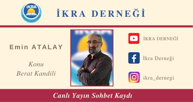 BERAT KANDİLİ SOHBETİ